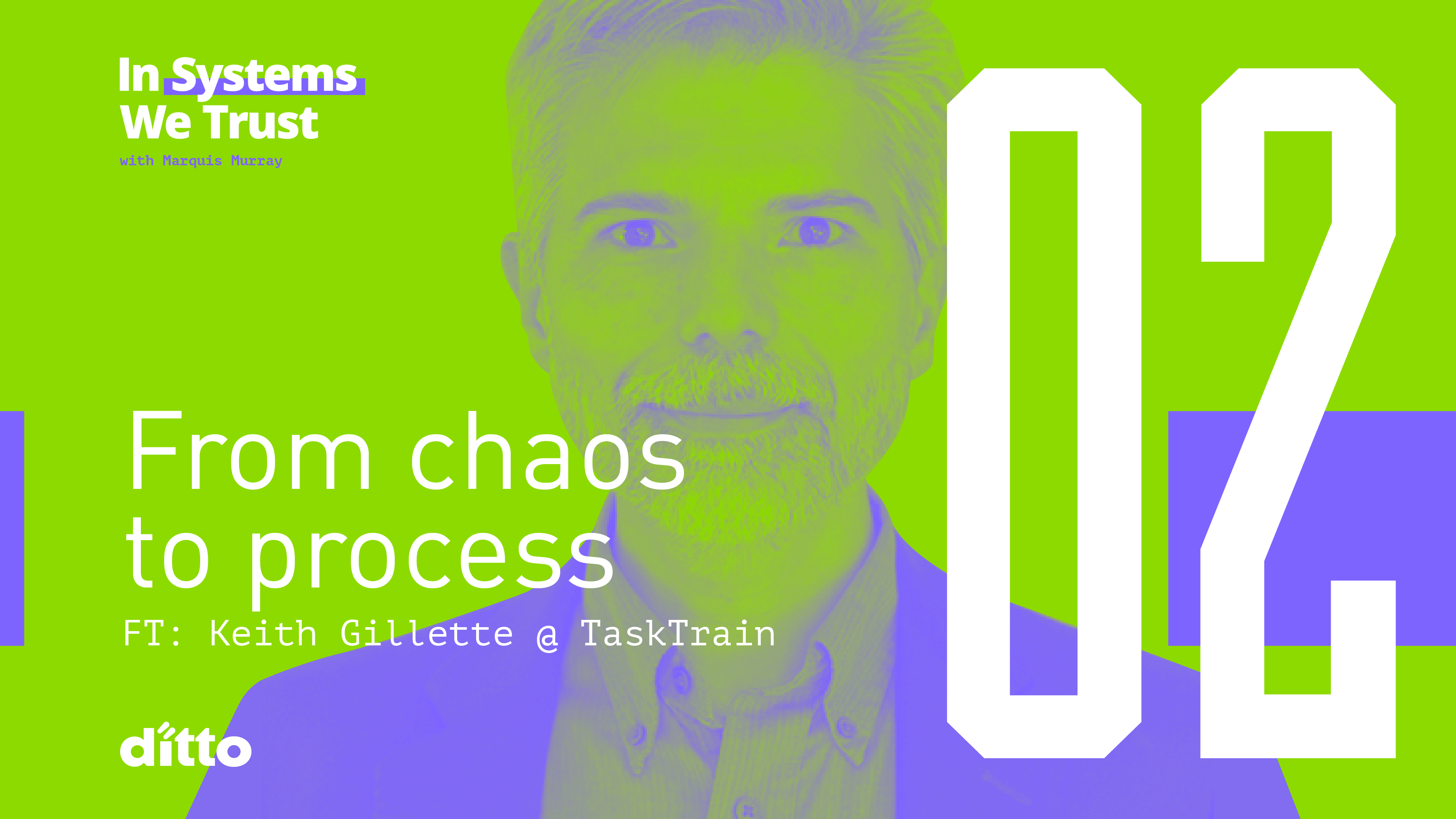 Keith Gillette of Task Train